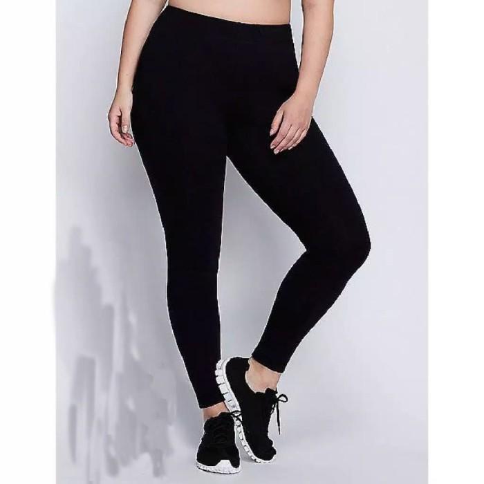 Jual Celana Legging Hitam Polos Jumbo Jersey Dove Legging Olahraga Gym Jakarta Barat Zoka Tokopedia
