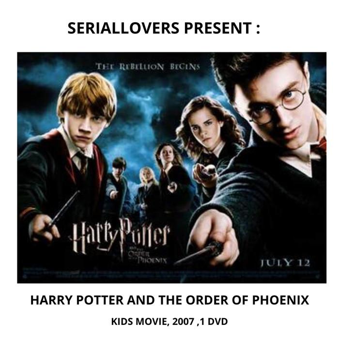Jual Jual Dvd Kartun Anak Harry Potter And Order Of The Phoenix 2007 Jakarta Pusat Seriallovers Tokopedia