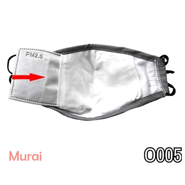 Foto Produk Filter Masker Kain Katun N95 5 lapisan PM 2.5 Untuk Selip anti Droplet dari Murai Tebas