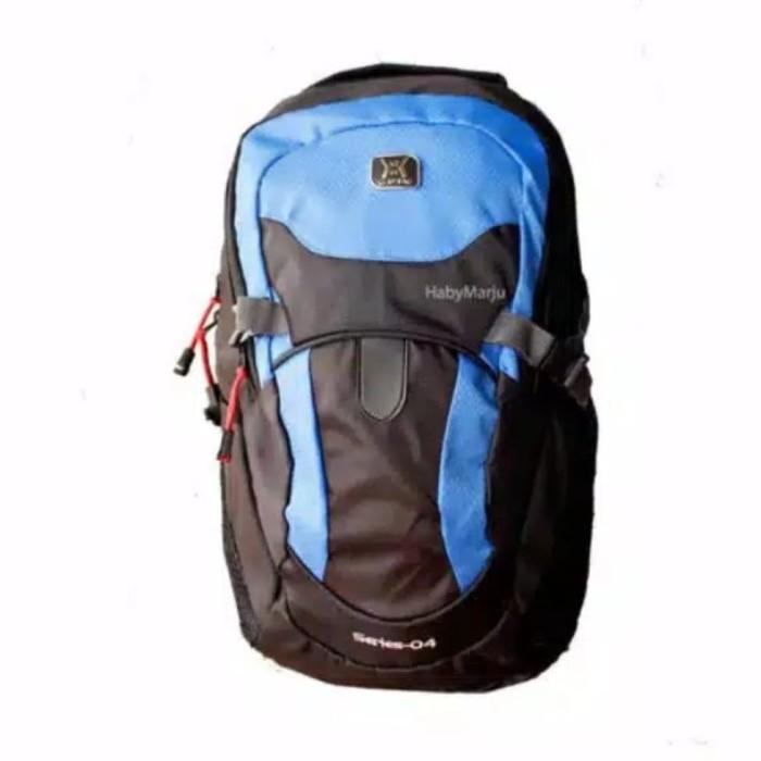 Foto Produk tas ransel pria laptop gearbag outdoor backpack free raincover blue dari adonishop