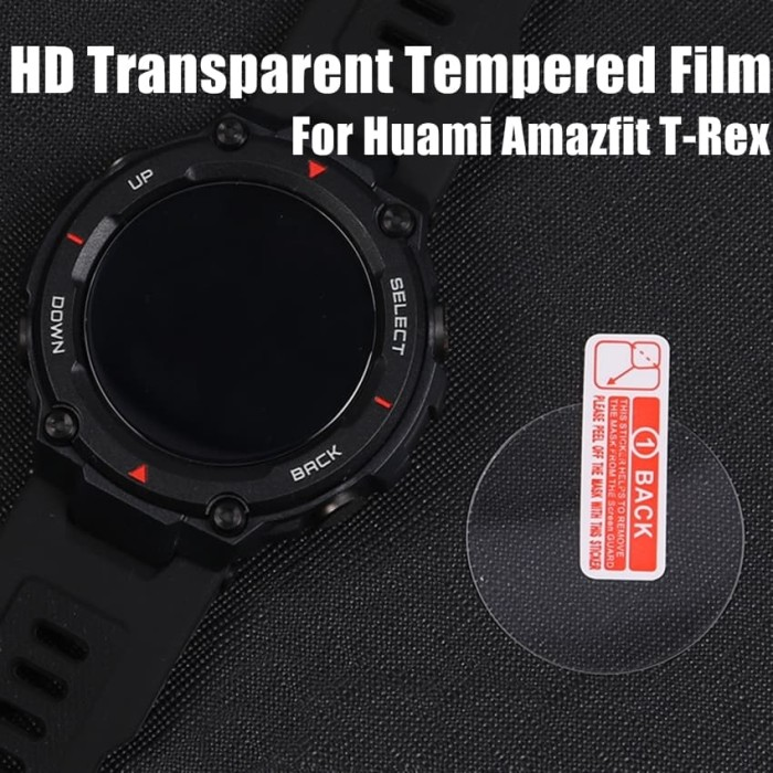 Foto Produk Tempered glass AMAZFIT TREX T-REX anti gores screen guard kaca dari Multi Store 12