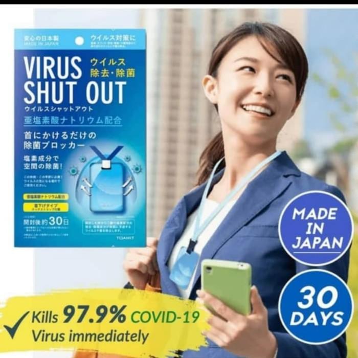 Foto Produk Virus Sterilization Virus Out / Virus Shut Out Kalung Anti Virus dari Cen store acc