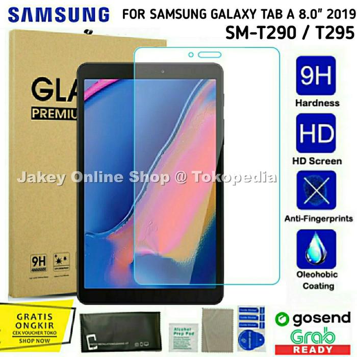 Foto Produk Tempered Glass 2.5D 9H Samsung Galaxy Tab A 8 2019 T290 T295 antigores dari Jakey Online Shop