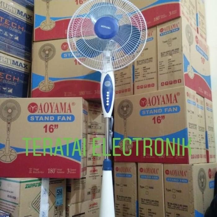 Foto Produk kipas angin berdiri (stand fan)16 inch AOYAMA dari teratai electronik