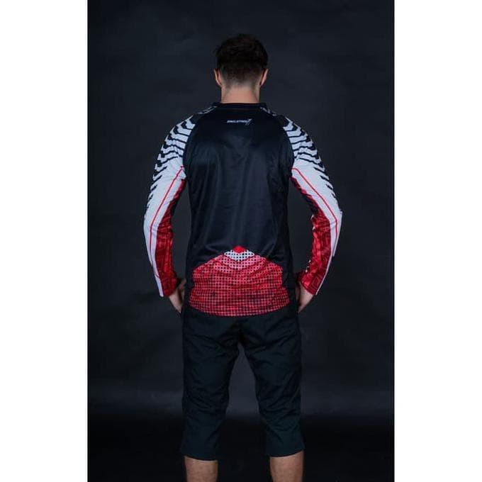 Foto Produk HOT SALE Jersey sepeda Timnas indonesia bahan Soft DryFit | baju dari jastinviara shop
