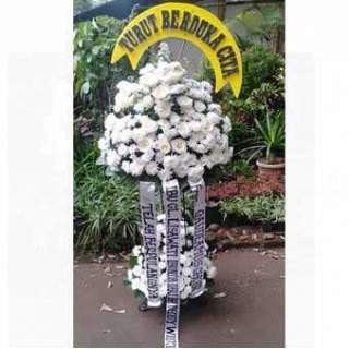 Jual Karangan Bunga Standing Flower Ucapan Pelantikan 2 Tingkat Jakarta Barat Golddiamond Tokopedia