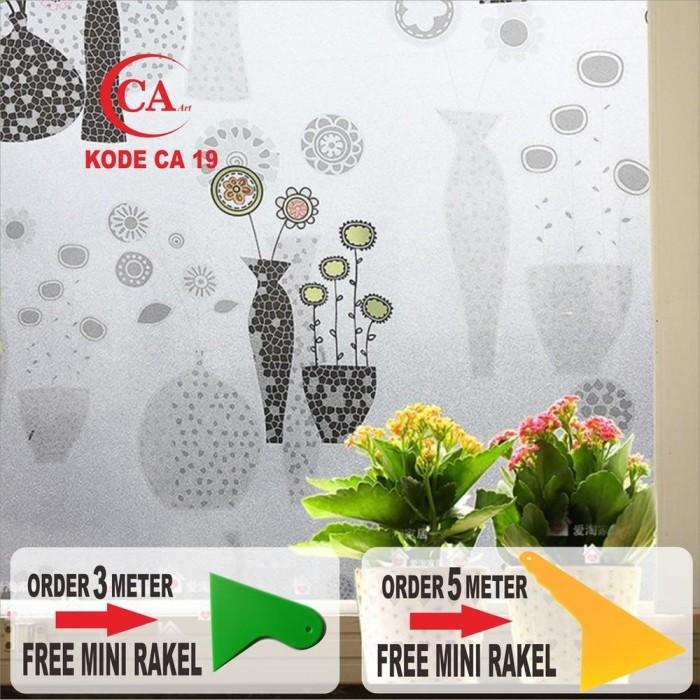 Jual New Stiker Kaca Motif Vas Bunga Kode Ca 19 Jakarta Selatan Kdaaniwaty Tokopedia