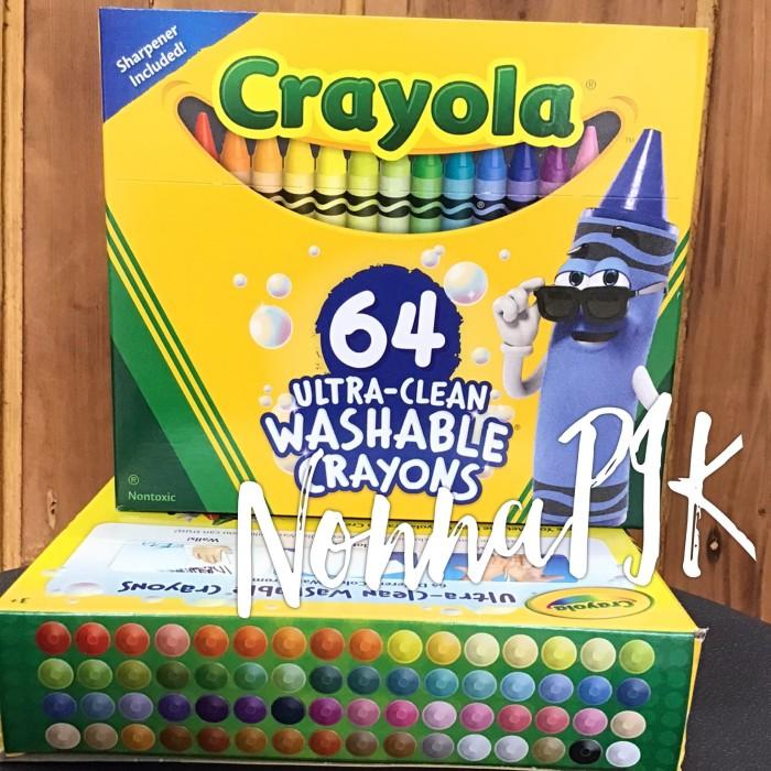 Jual Crayola Original 64 Crayon Perlengkapan Alat Mewarnai Menggambar Jakarta Utara Nonnapik Tokopedia