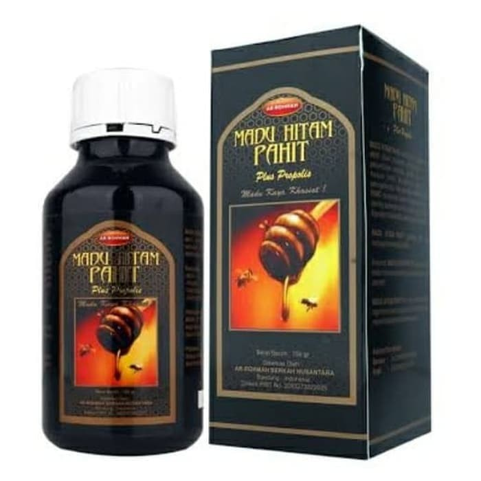 Foto Produk MADU HITAM PAHIT PLUS PROPOLIS isi 750 gr dari sinar led