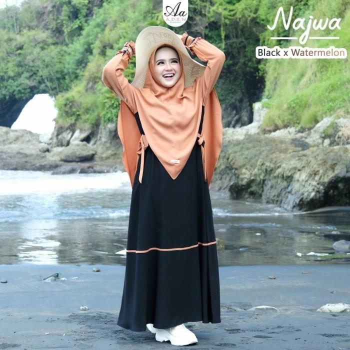 Jual Gamis Terbaru Najwa Set Original Aden Hijab S Chatt Aja Kab Bantul Al Farie Tokopedia