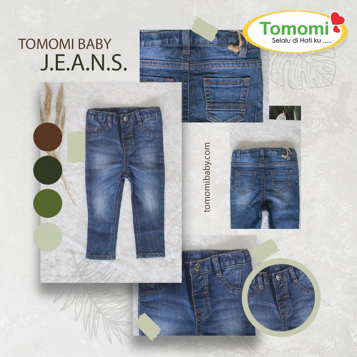 Foto Produk Jeans Anak TOMOMI Model 2 - S dari Tomomi Baby Wear