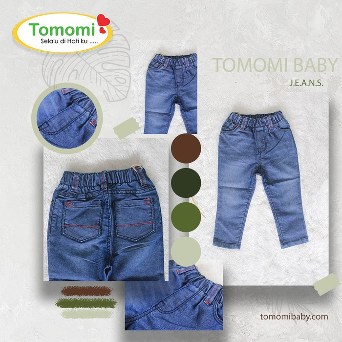 Foto Produk Jeans ANAK TOMOMI Model 4 - S dari Tomomi Baby Wear