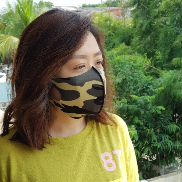 Jual masker kain scuba - masker scuba - masker non medis ...