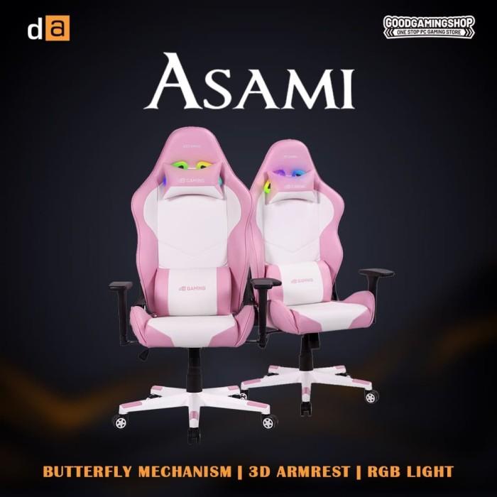 Foto Produk Digital Alliance ASAMI - Gaming Chair dari GOODGAMINGM2M