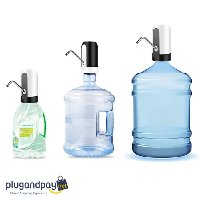 Foto Produk Pompa Elektrik Air Minum Galon Penyedot Penghisap Water Dispenser dari plugandpay
