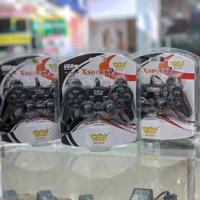 Foto Produk Gamepad Single Getar dari Kharisma Shop Jogja