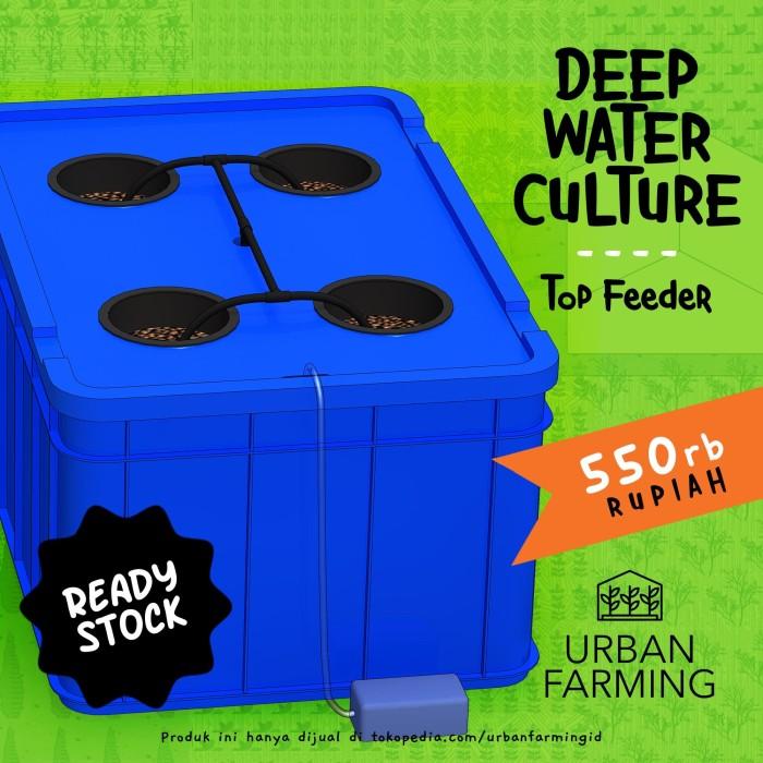 Foto Produk Deep Water Culture Hydroponic - Top Feeder - Wick/DWC/Hidroponik dari UrbanFarming