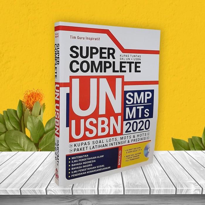 Foto Produk BUKU ORIGINAL PERSIAPAN UN SMP MTS PLUS USBN 2020 dari cerdas media