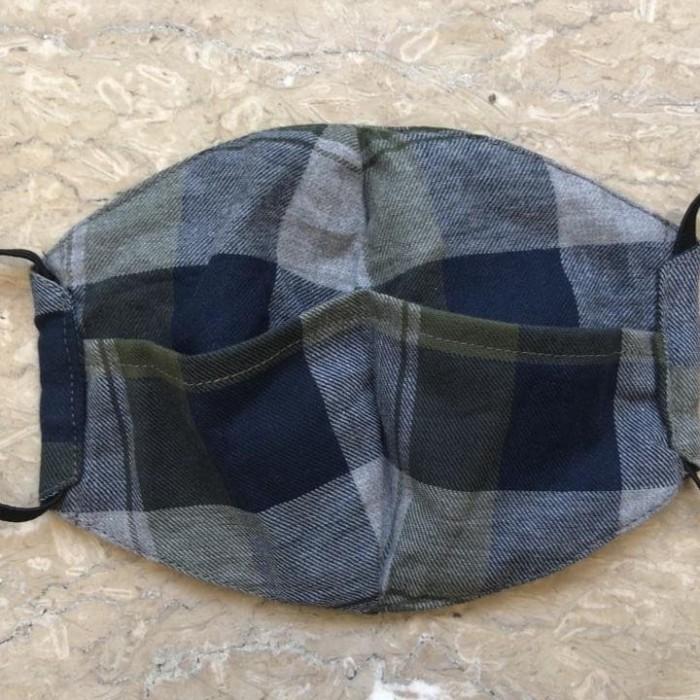 Foto Produk Masker Kain Motif 2 Lapis dari Mega-Indolink