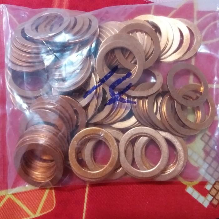 Foto Produk cooper paking /ring tembaga 14mm dari Isamu Diesel
