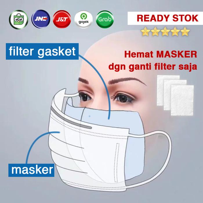 Foto Produk Filter / Masker Gasket / Surgical Masker Kain Filter / Insert dari lokaliku