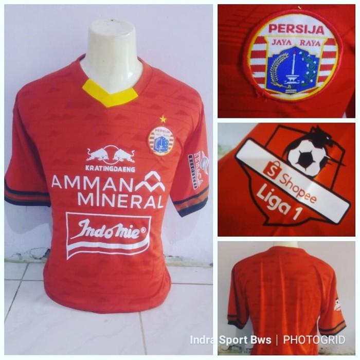 Foto Produk Jersey Persija Home 2020 Merah dari IndraSport Bondowoso