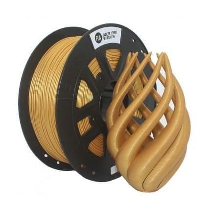 Foto Produk TERMURAH per meter Tinta 3D Pen Printer Filament PLA 1.75mm GOLD dari Verona-Acc