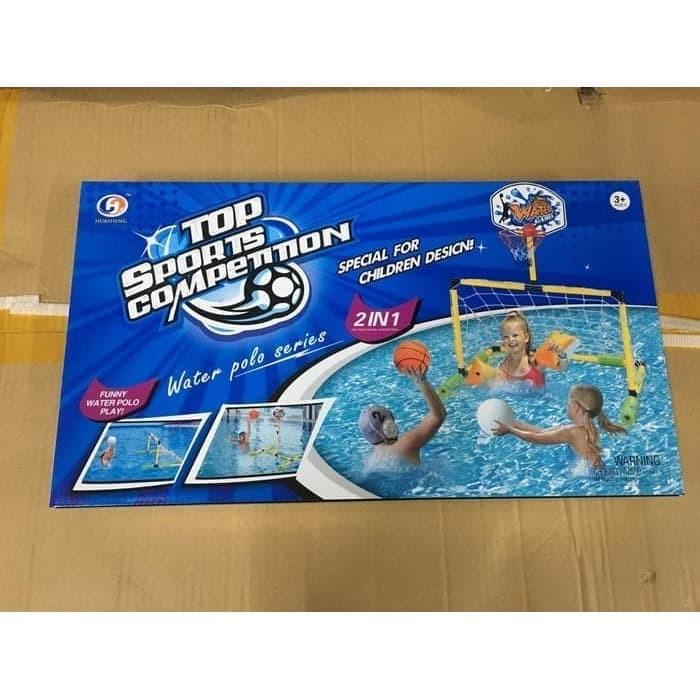 Foto Produk Mainan Anak Edukasi Gawang Bola dan Ring Basket 2in1 dari MAG TOYS