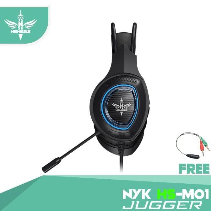 Foto Produk NYK Headset Mobile Gaming HS-M01 JUGGER f6 dari Pojok Biru