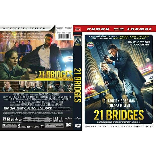 Foto Produk DVD Film 21 Bridges (2019) Gratis 1 dari Laris Jaya Glodok