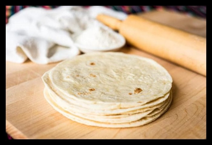Jual Terlaris White Flour Tortilla Frozen Kulit Kebab 20cm Sehat Bebas Jakarta Barat Rudie Olshops Tokopedia