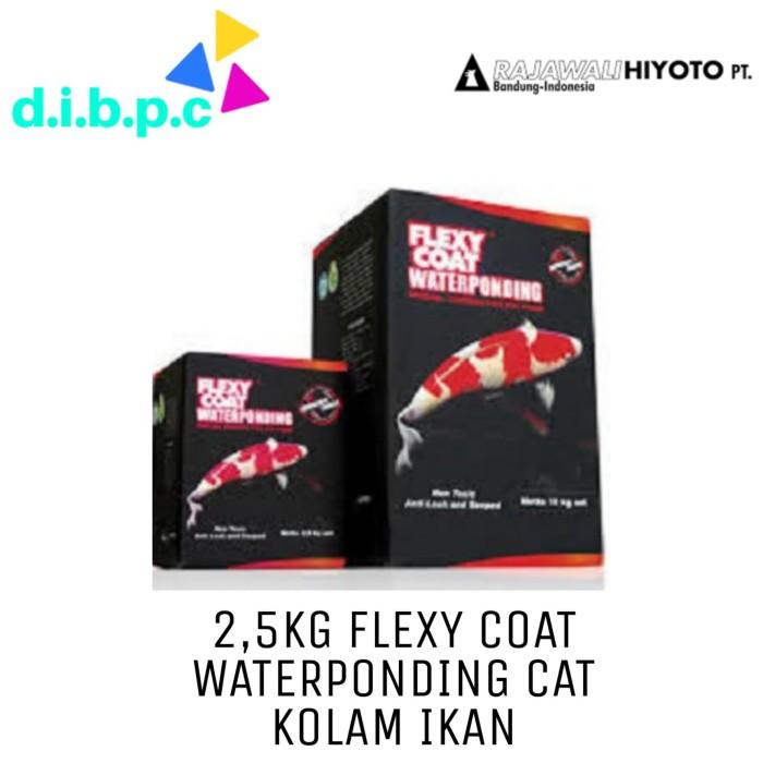 Foto Produk 2.5kg 5000 Black Flexycoat Flexy Coat Waterponding Cat Kolam Koi dari DIBPC