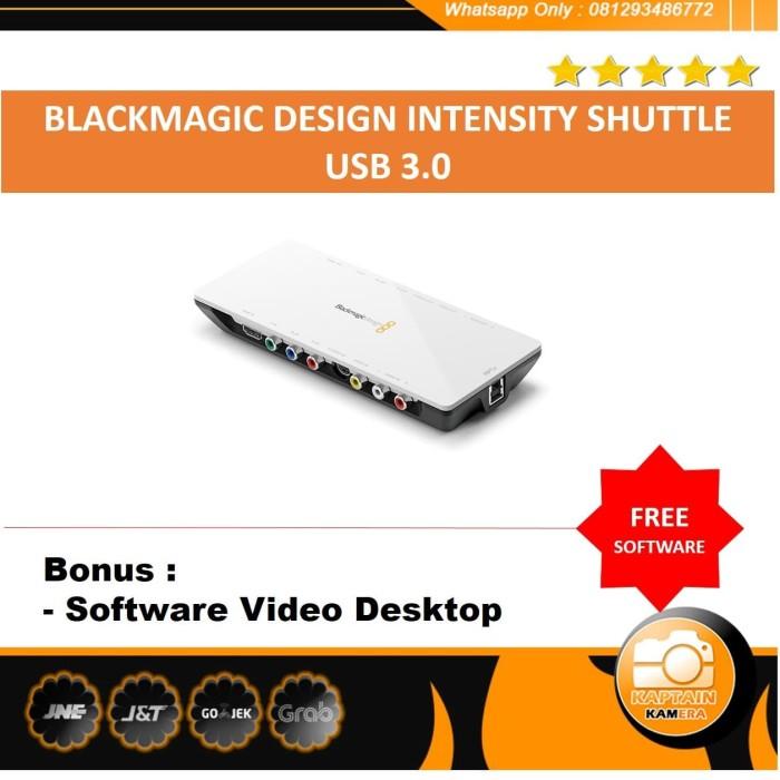 Jual Blackmagic Intensity Shuttle Usb 3 0 Free Software Video Desktop Jakarta Selatan Kaptain Kamera Tokopedia