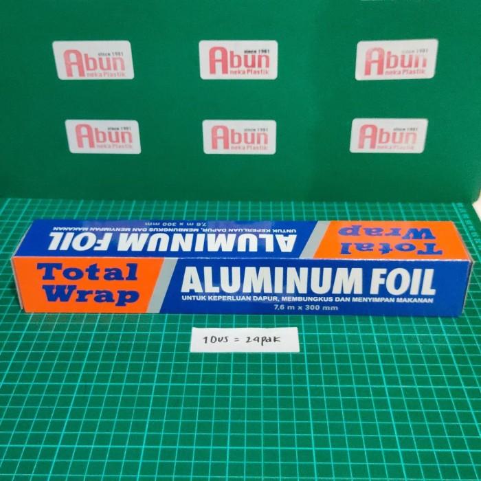Foto Produk Aluminium Foil (Total Wrap) - 30cm x 7.6m dari Abun Aneka Plastik