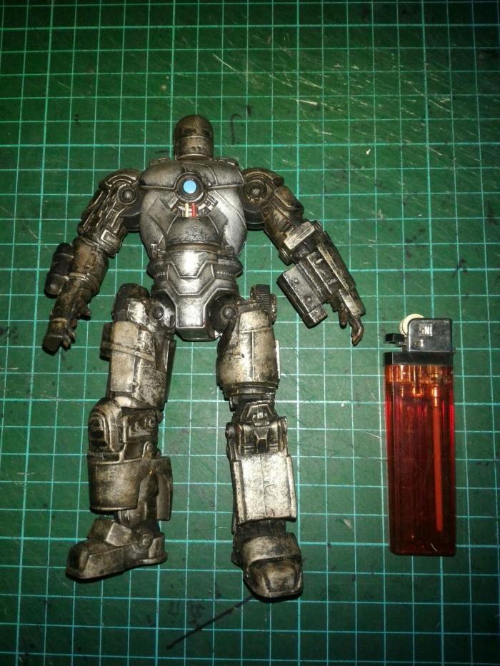 Jual Iron Man Movie Mark 1 Repainted Hasbro Loose - Kab