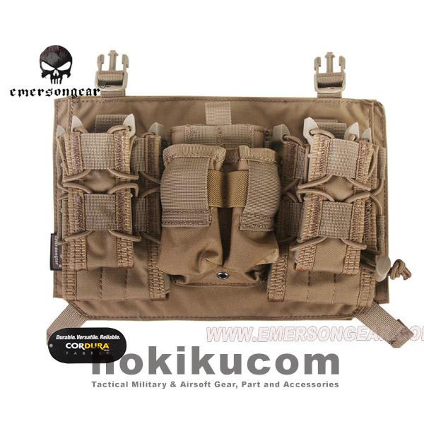 Foto Produk EmersonGear Mag Pouch Tactical Attacker Panel for 419 / 420 Vest - Brown Coklat dari Hokikucom