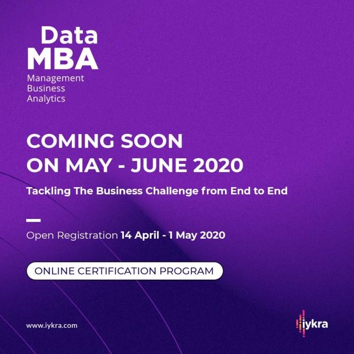 Foto Produk Program Data MBA Online Class dari IYKRA