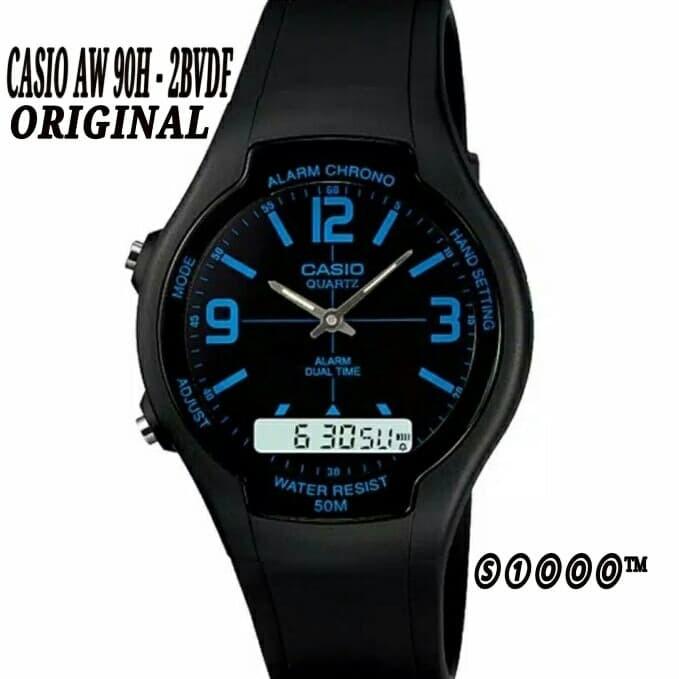 Foto Produk CASIO AW-90H-2BVDF AW 90H 2BVDF ORIGINAL dari serbaserbi1000