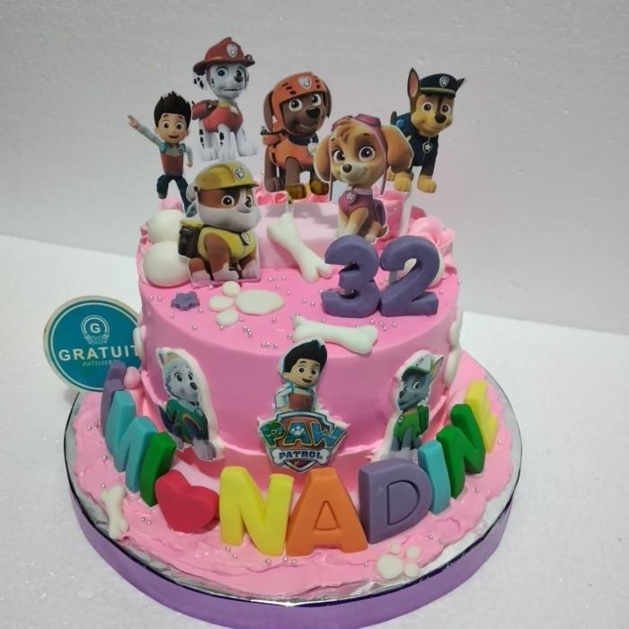 Jual Kue Ulang Tahun Paw Patrol Paw Patrol Birthday Cake Jakarta Timur Gratuit Cake Tokopedia