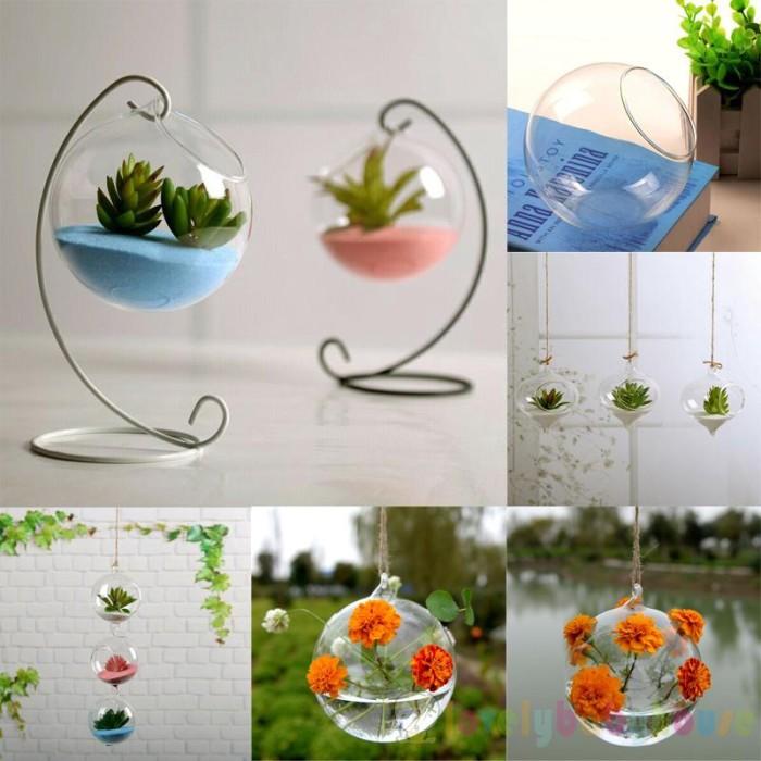 Jual Home Decor Plant Vase Creative Home Garden Clear Glass Jakarta Barat Fidalisa Tokopedia