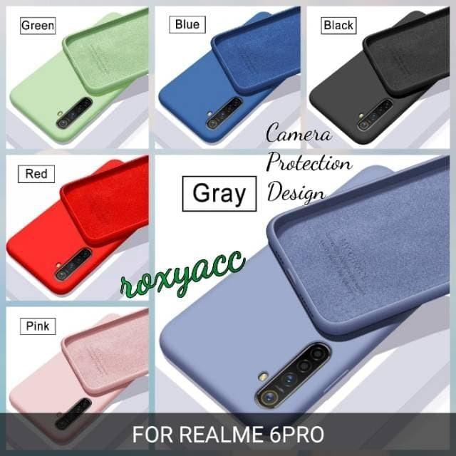 Foto Produk softcase realme 6 pro case anti noda soft case realme 6pro dari yalen shop