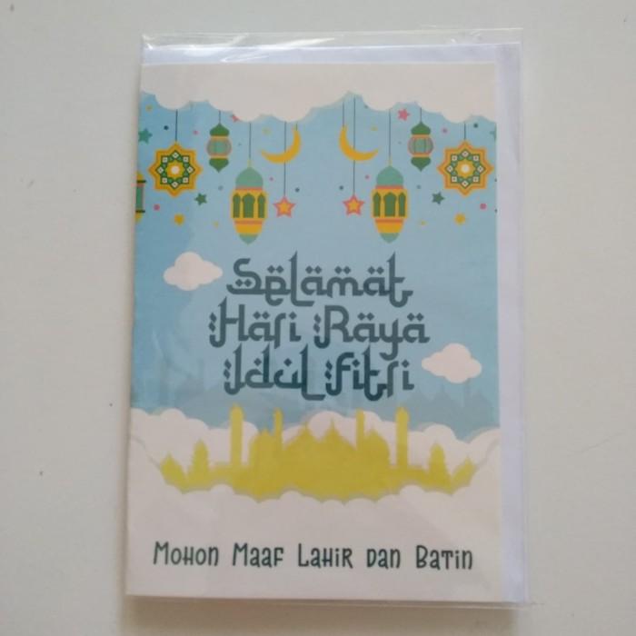 Jual Kartu Ucapan Selamat Hari Raya Idul Fitri Card