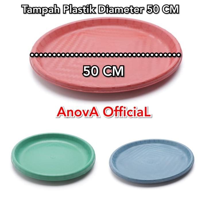 Foto Produk TAMPAH PLASTIK BULAT. MEDIUM 50 CM. NAMPAN. dari anova official