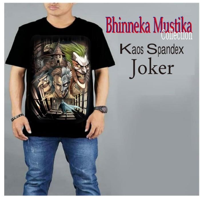 Foto Produk KAOS SPANDEX Joker - Baju Gym Fitnes Training - Distro dari Bhinneka Mustika