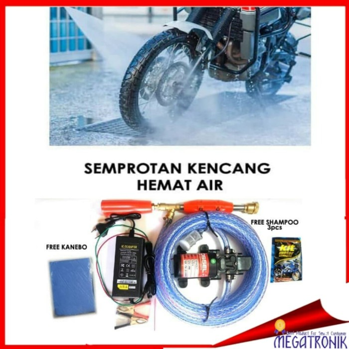 Jual ALAT STEAM POMPA AIR JET CLEANER CUCI MOTOR MOBIL AC ...
