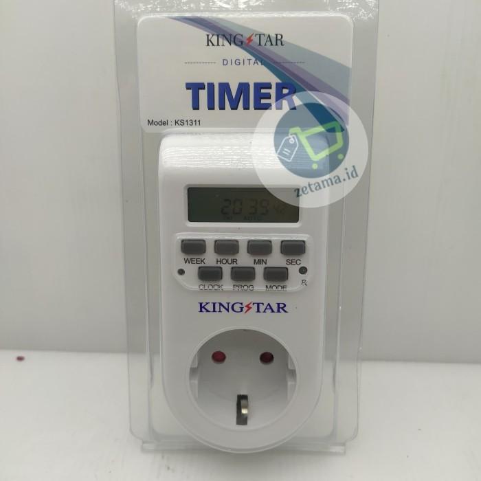 Foto Produk STOP KONTAK TIMER DIGITAL COLOKAN TIMER DIGITAL dari Zetama id