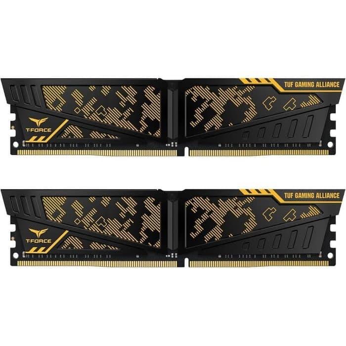 Foto Produk Team T-FORCE VULCAN TUF Gaming DDR4 16GB 3200Mhz 2x8GB dari Flazz Computer Pekanbaru