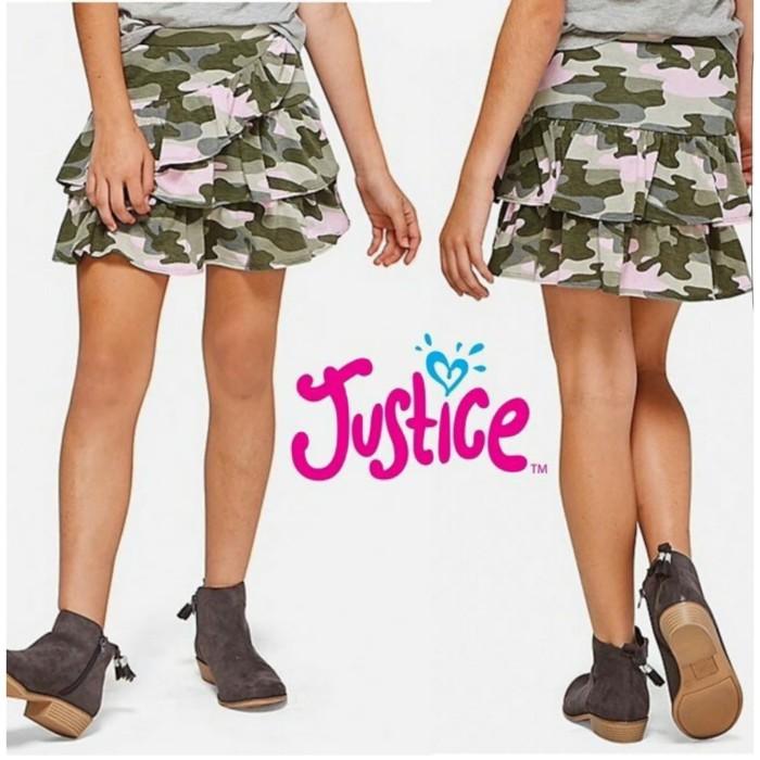 Foto Produk Rok Celana Anak Cewek Justice Army - 6 Tahun dari Kiosga Collection
