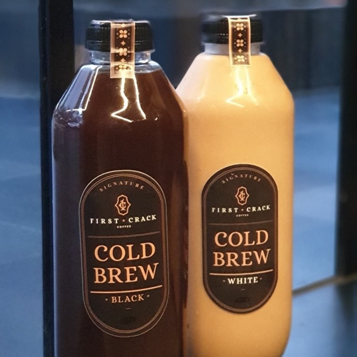 Foto Produk Paket Cold Brew 1L - isi 2 Pcs - Black - Black dari First Crack Coffee