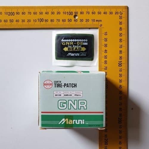 Foto Produk GNR8 Karet Tambal Ban RADIAL Tubeless MARUNI JAPAN Tire Patch 48 x 68 dari TOKO BESI TIMUR JAYA